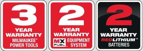 Gwarancja rozszerzona Milwaukee elektronarzędzia, akumulatory/baterie i ładowarki